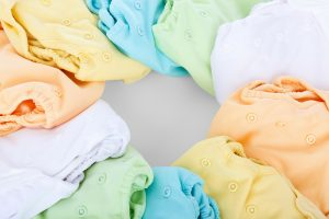 Washing cloth nappies with soap nuts